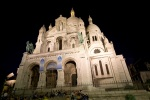 At night the Sacre Coeur is just as pretty